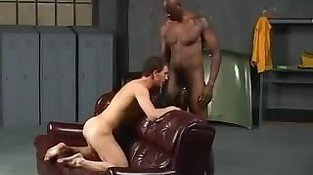 Big Black cock & White Boy