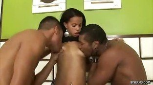 Bisex Alessandra,Marcelo And Gabriel