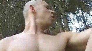 Hot Gay Papi Outdoor Hardcore Fuck