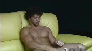 Hot Muscular Straight Greek Stud Jacks Off
