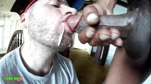 Straight Dude Gets Fucked With No Lube And Made To Swallow